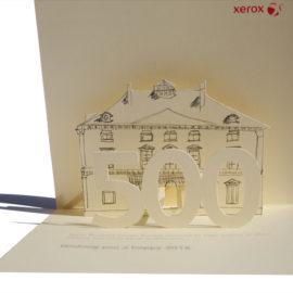 Carte de vœux 2016 pour Xerox