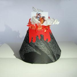 Carte de vœux volcan 2016